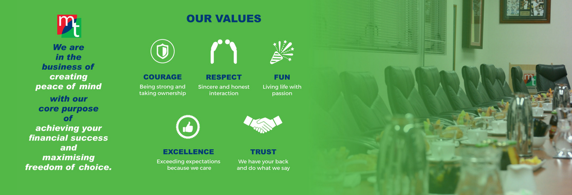 Marsh Tincknell Core Values
